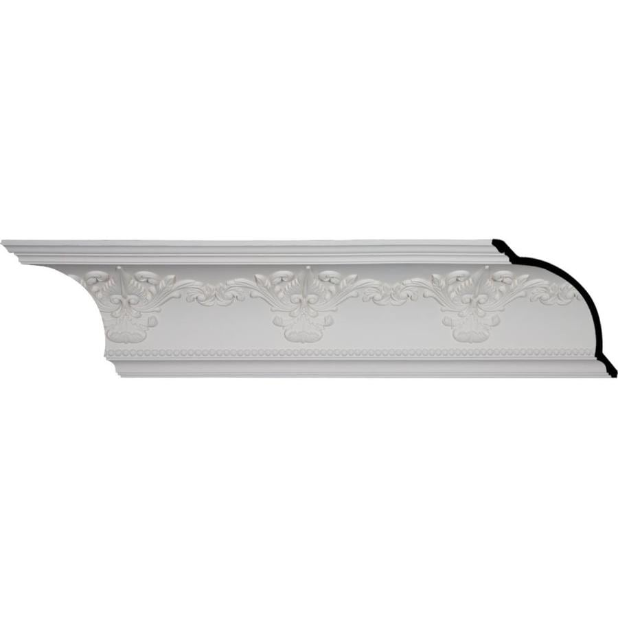 Ekena Millwork 9.5-in x 8.01-ft Polyurethane Sydney Crown Moulding