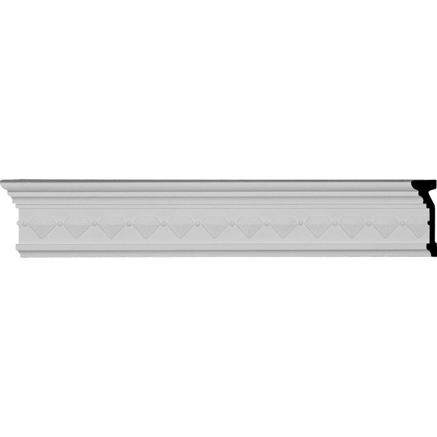 Ekena Millwork 3.5-in x 7.99-ft Polyurethane Franklin Crown Moulding
