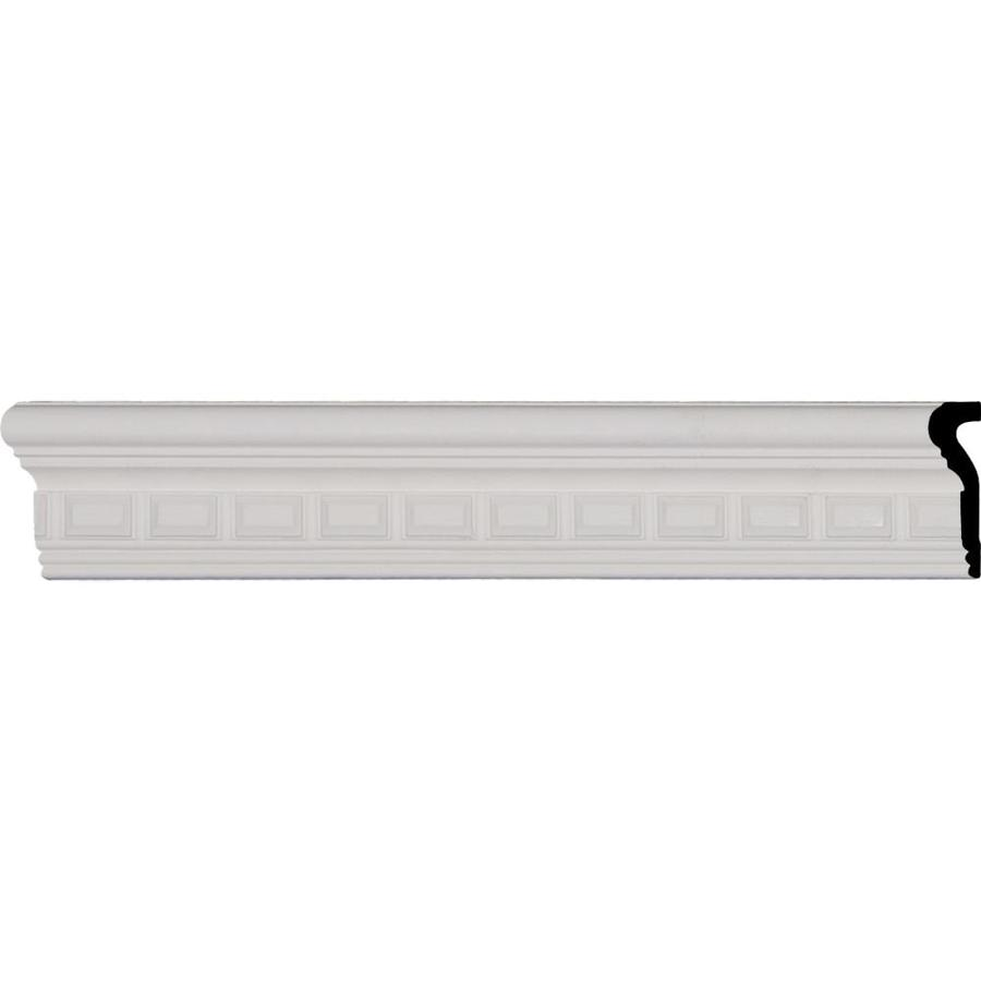 Ekena Millwork 3.375-in x 8-ft Polyurethane Blackthorne Chair Rail