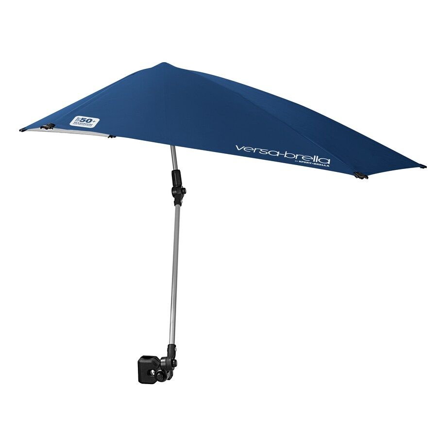 Sport-Brella 35.04-in Midnight Blue VersaBrella Automatic Bubble Umbrella