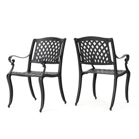 Best Selling Home Decor Hallandale Set of 2 Black Metal Stationary