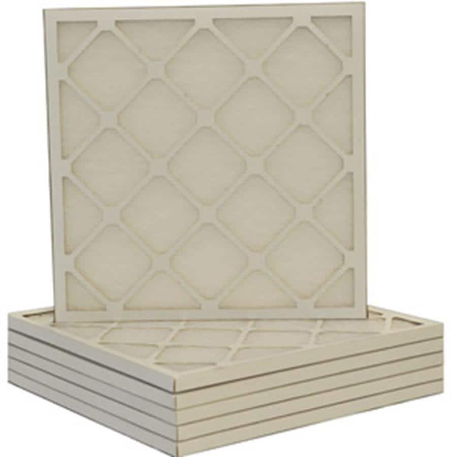 Filtrete 6-Pack HVAC Basic (Common: 14-in x 25-in x 1-in; Actual: 13.5-in x 24.5-in x 0.75-in) Basic Flat Air Filter