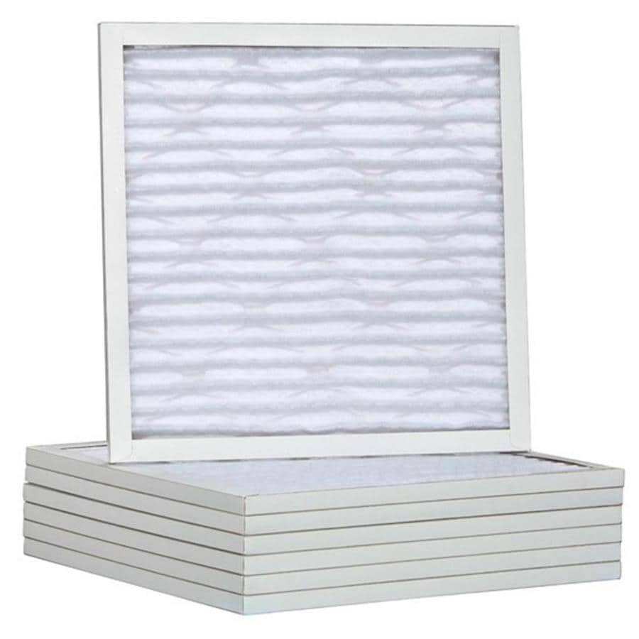 Filtrete 6-Pack HVAC Basic (Common: 22-in x 17-in x 1-in; Actual: 16.875-in x 21.875-in x 0.75-in) Pleated Air Filter