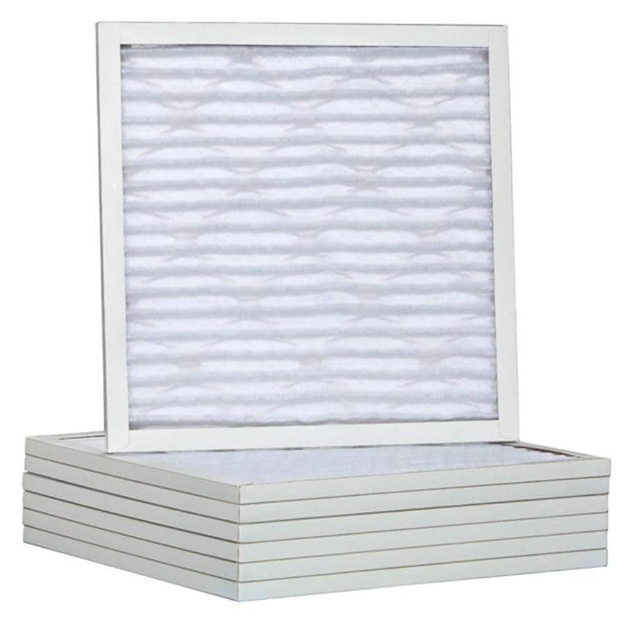 Filtrete 6-Pack HVAC Basic (Common: 22-in x 18-in x 1-in; Actual: 17.5-in x 19.5-in x 0.75-in) Pleated Air Filter