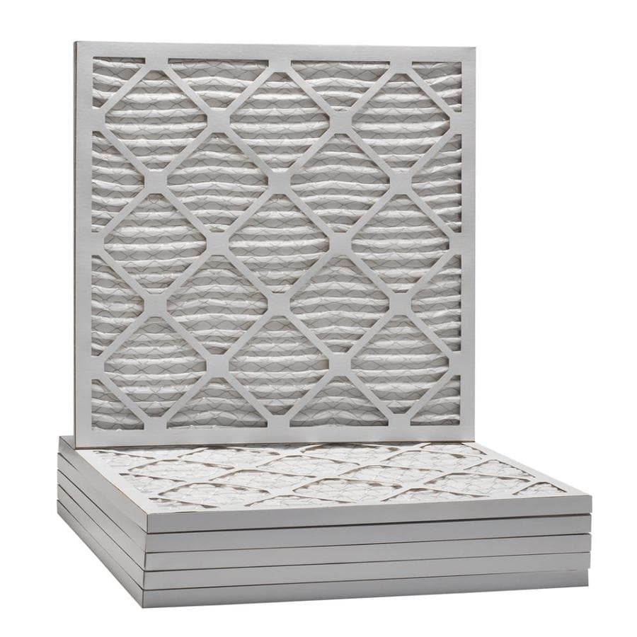 Filtrete 6-Pack Pleated Ready-to-Use Industrial HVAC Filters (Common: 18-in x 18-in x 1-in; Actual: 17.75-in x 17.7-in x .75-in)