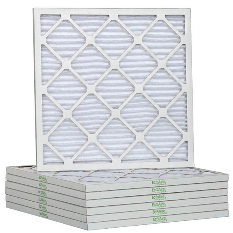 Filtrete 6-Pack HVAC Basic (Common: 10-in x 10-in x 1-in; Actual: 9.5-in x 9.5-in x 0.75-in) Pleated Air Filter