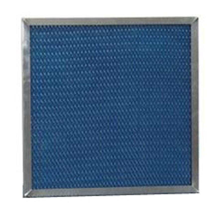 Filtrete HVAC Basic (Common: 25-in x 20-in x 2-in; Actual: 19.875-in x 24.875-in x 1.75-in) Washable Basic Flat Air Filter