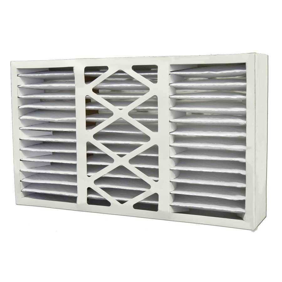 Filtrete 2-Pack HVAC Basic (Common: 16-in x 25-in x 5-in; Actual: 15.375-in x 25.5-in x 5.25-in) Pleated Air Filter