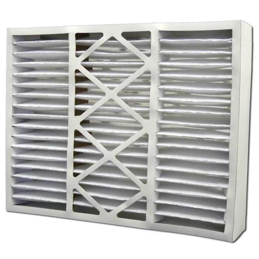 Filtrete 2-Pack HVAC Basic (Common: 24-in x 25-in x 5-in; Actual: 23.75-in x 24.75-in x 4.375-in) Pleated Air Filter