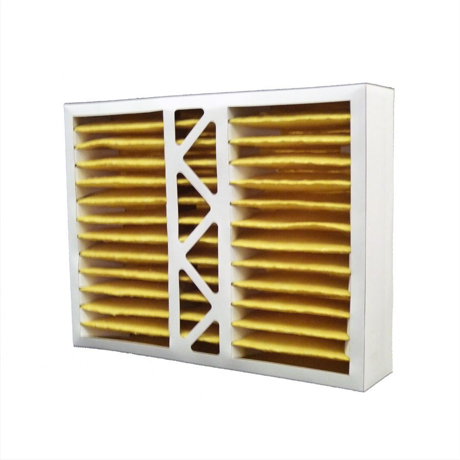 Filtrete (Common: 16-in x 20-in x 4-in; Actual: 15.5-in x 19.875-in x 4.25-in) 2-Pack Hvac Basic Pleated Air Filters