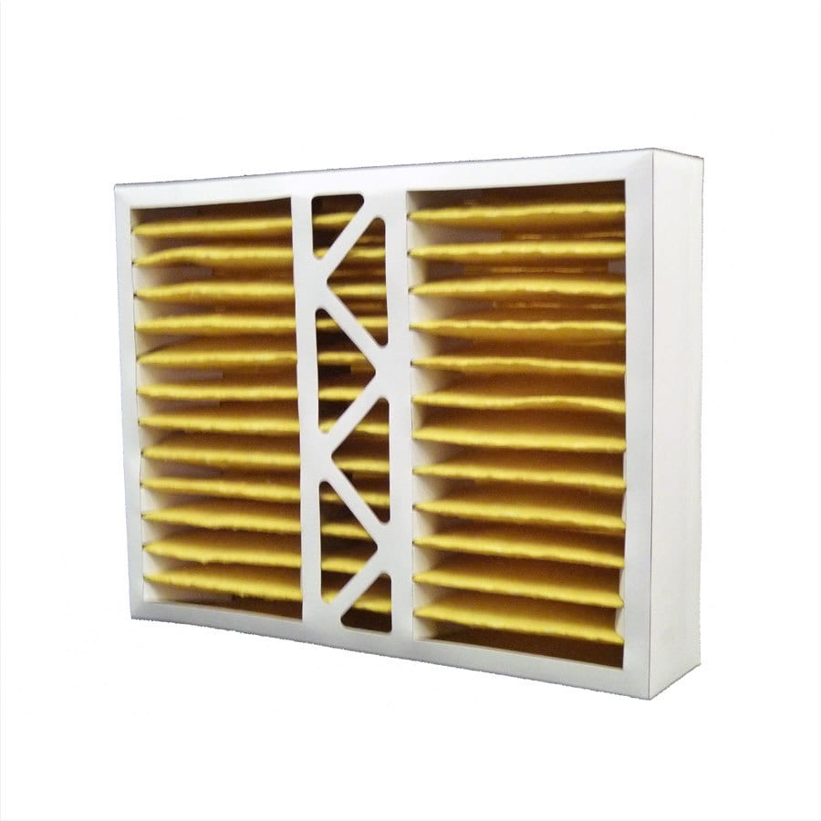 Filtrete 2-Pack HVAC Basic (Common: 16-in x 20-in x 4-in; Actual: 15.5-in x 19.875-in x 4.25-in) Pleated Air Filter
