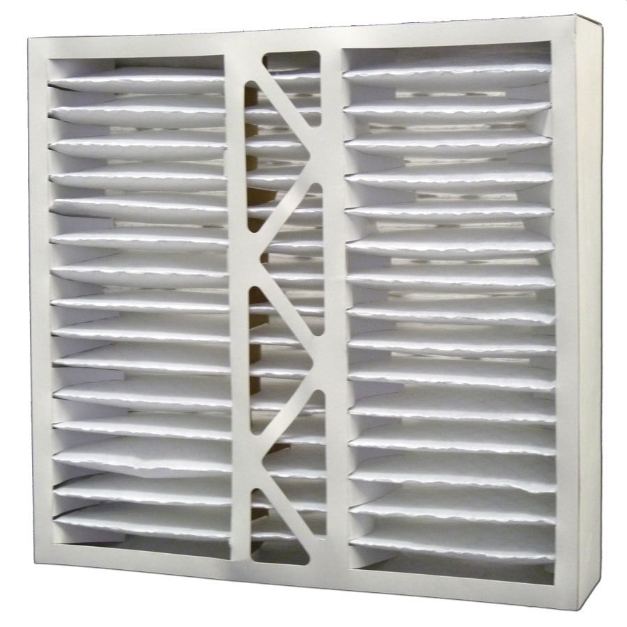 Filtrete 2-Pack HVAC Basic (Common: 19-in x 20-in x 4-in; Actual: 19.125-in x 19.875-in x 4.25-in) Pleated Air Filter