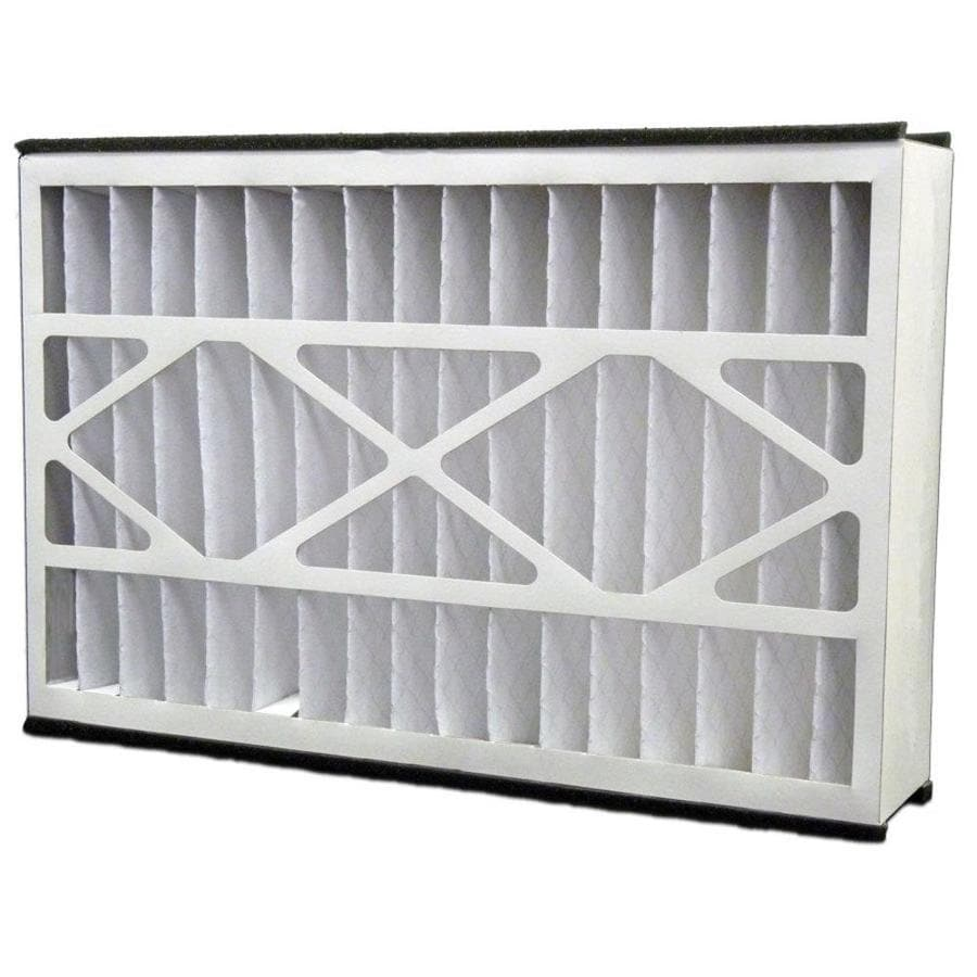 Filtrete 2-Pack HVAC Basic (Common: 16-in x 25-in x 5-in; Actual: 15.625-in x 24.125-in x 4.875-in) Pleated Air Filter