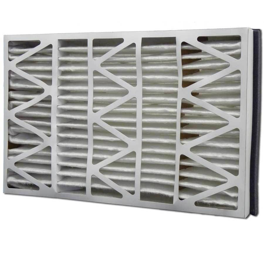 Filtrete 2-Pack HVAC Basic (Common: 17-in x 27-in x 5-in; Actual: 17.2-in x 26.2-in x 5-in) Pleated Air Filter