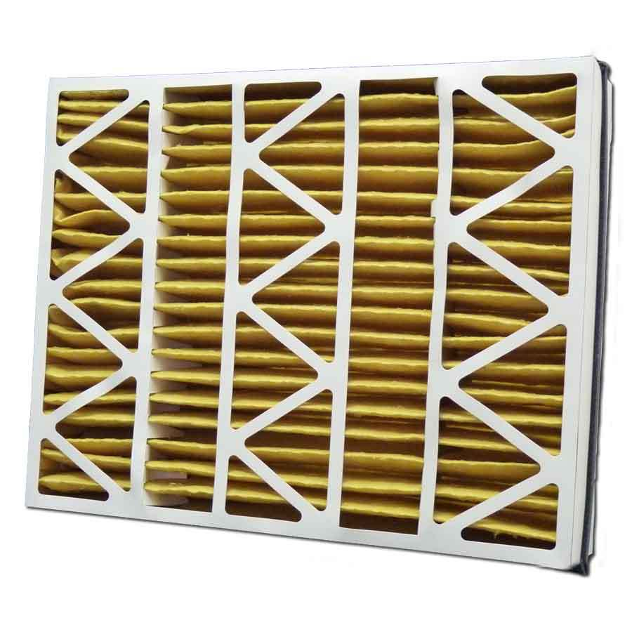 Filtrete 2-Pack HVAC Basic (Common: 21-in x 26-in x 5-in; Actual: 20.1-in x 25.7-in x 5-in) Pleated Air Filter