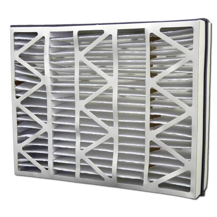 Filtrete 2-Pack HVAC Basic (Common: 21-in x 26-in x 5-in; Actual: 20.625-in x 25.25-in x 5-in) Pleated Air Filter