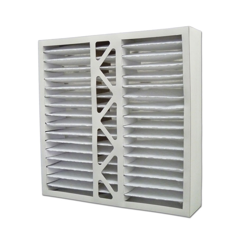 Filtrete 2-Pack HVAC Basic (Common: 19.75-in x 20-in x 5-in; Actual: 19.75-in x 19.5-in x 4.375-in) Pleated Air Filter