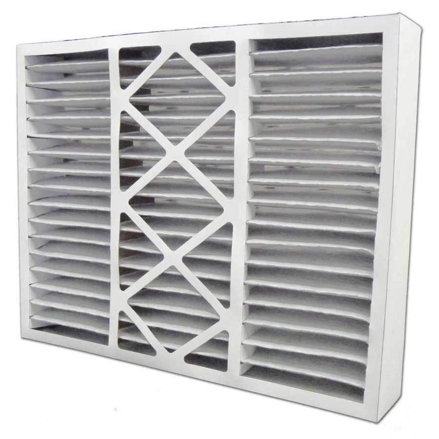 Filtrete 2-Pack HVAC Basic (Common: 20-in x 25-in x 5-in; Actual: 19.875-in x 24.75-in x 4.375-in) Pleated Air Filter