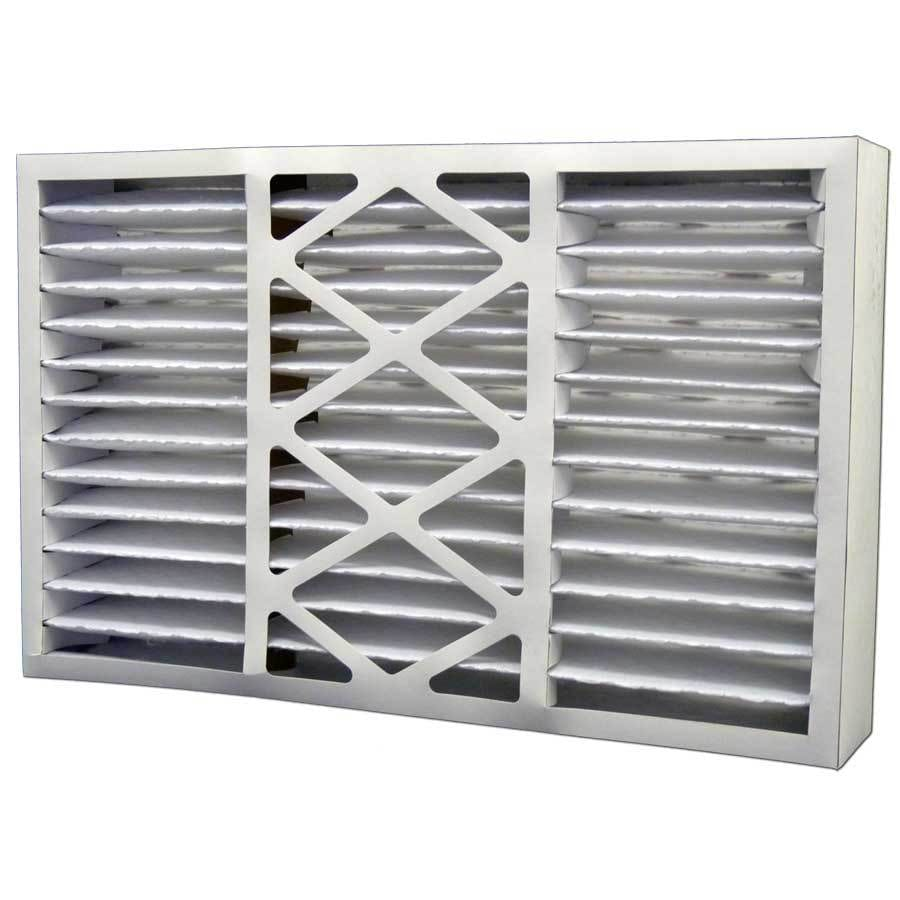 Filtrete 2-Pack HVAC Basic (Common: 16-in x 25-in x 5-in; Actual: 15.875-in x 24.75-in x 4.375-in) Pleated Air Filter