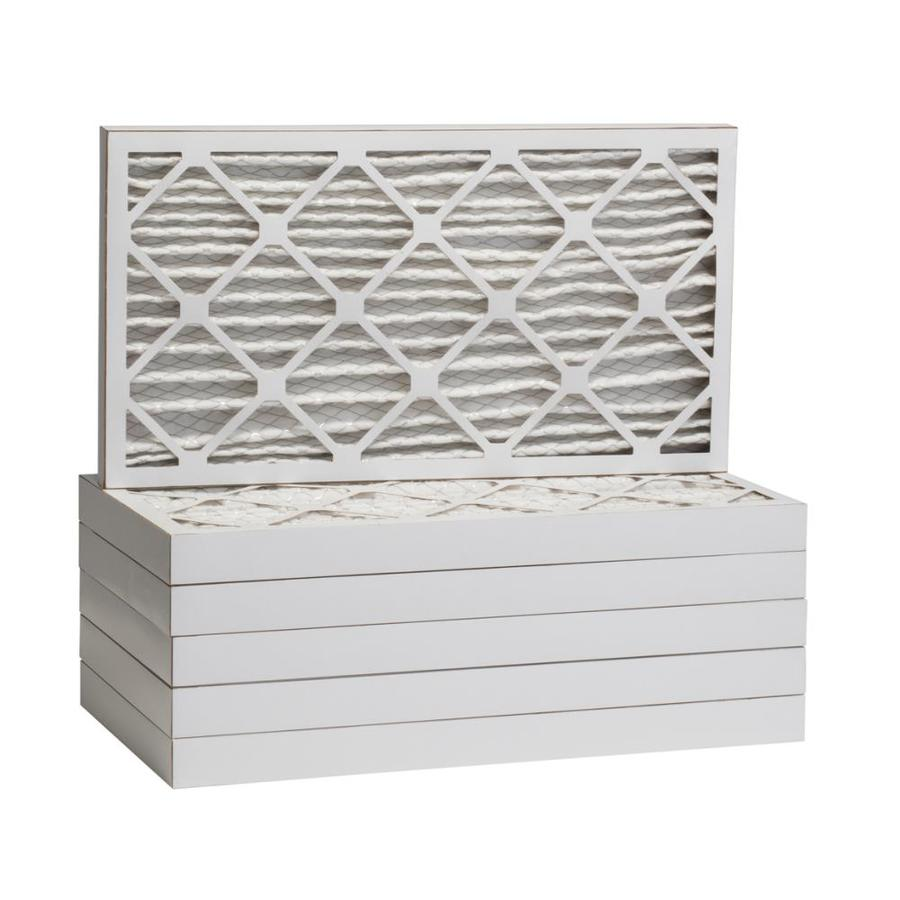 Filtrete 12-Pack HVAC Basic (Common: 14-in x 25-in x 2-in; Actual: 13.875-in x 24.875-in x 1.75-in) Pleated Air Filter