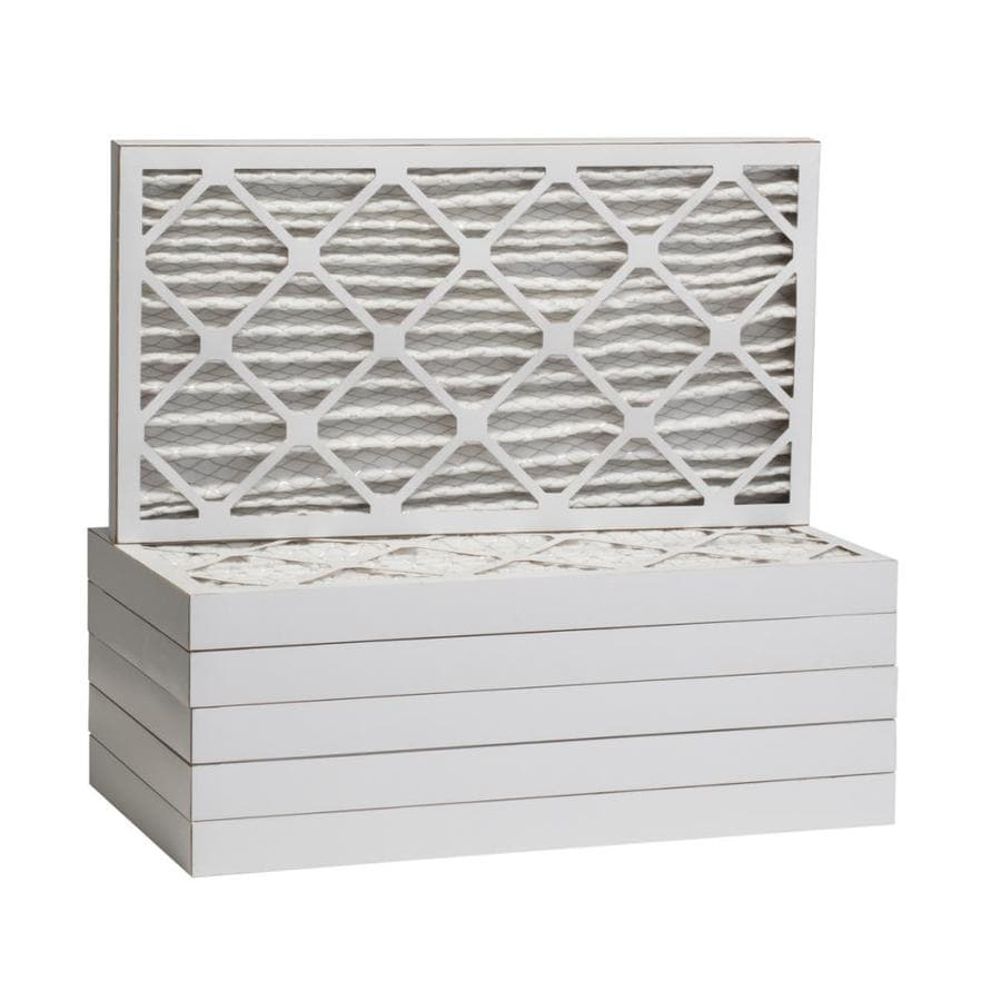Filtrete 12-Pack HVAC Basic (Common: 16-in x 24-in x 2-in; Actual: 15.375-in x 23.375-in x 1.75-in) Pleated Air Filter