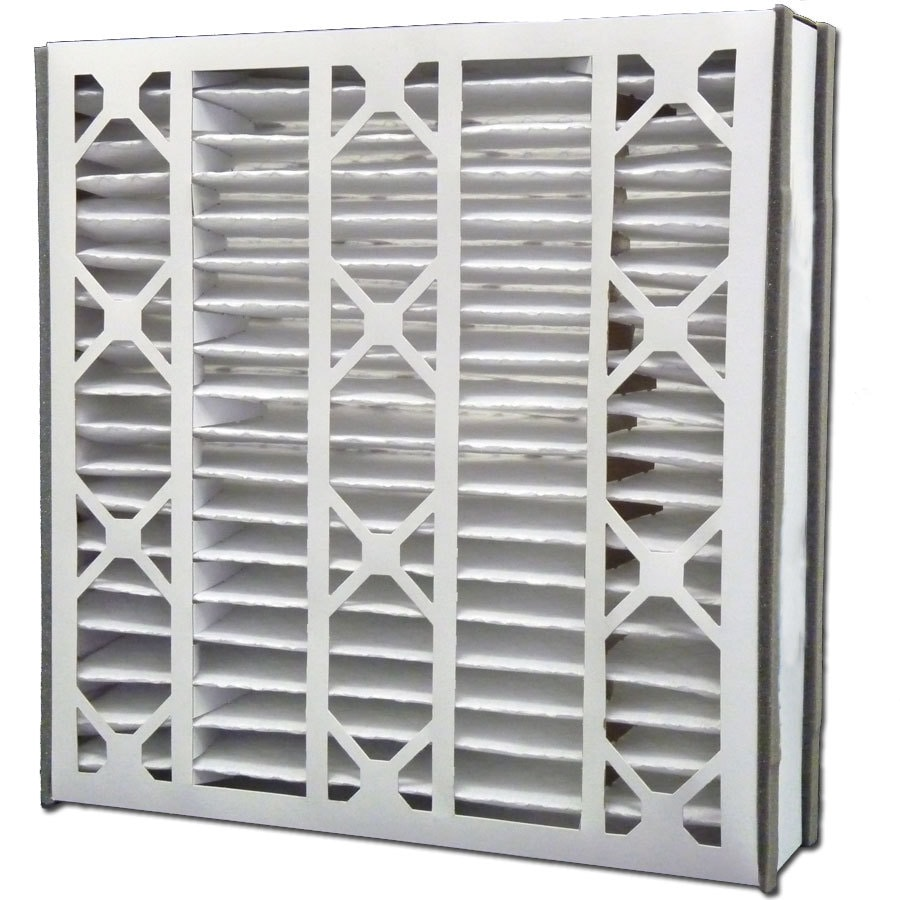 Filtrete 2-Pack HVAC Basic (Common: 20-in x 20-in x 5-in; Actual: 19.75-in x 20.75-in x 4.875-in) Pleated Air Filter