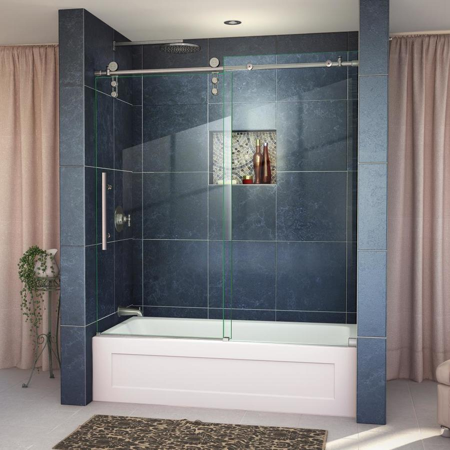 DreamLine Enigma-Z 59-in W x 62-in H Frameless Bathtub Door
