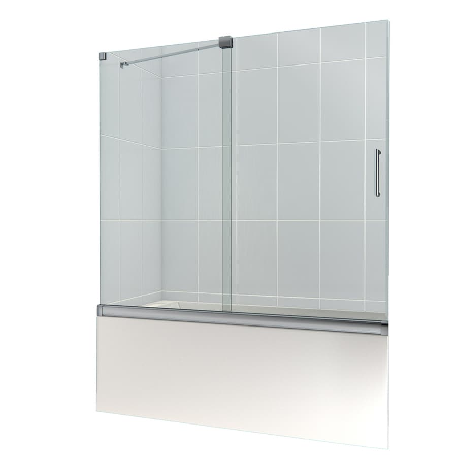 DreamLine Mirage 60-in W x 58-in H Frameless Bathtub Door