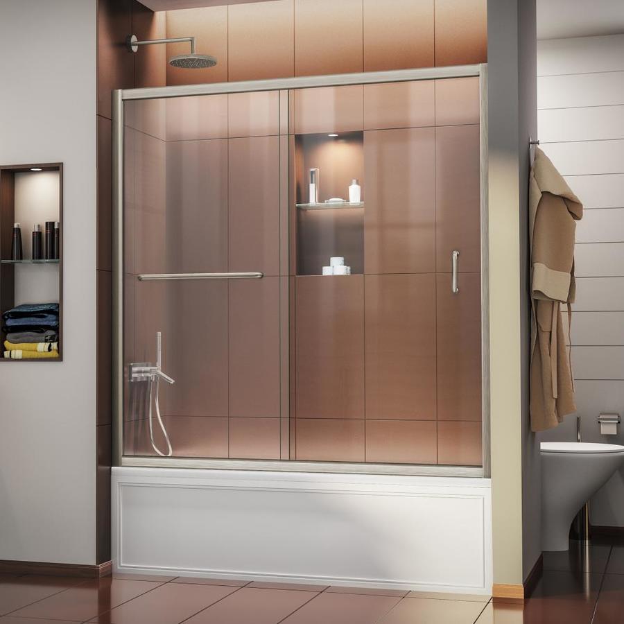 DreamLine Infinity-Z 60-in W x 58-in H Frameless Bathtub Door