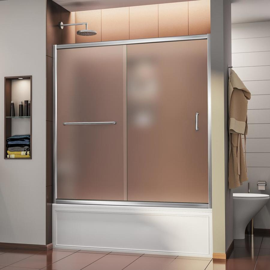 DreamLine Infinity-Z 60-in W x 58-in H Frameless Bathtub Door