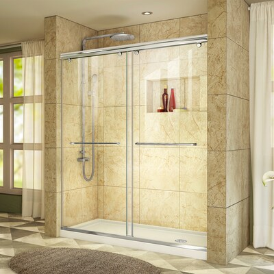 Chrome 2 Piece Alcove Shower Kit