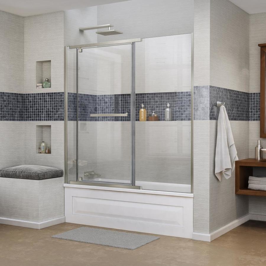 DreamLine Vitreo-X 58.75-in W x 58-in H Frameless Bathtub Door