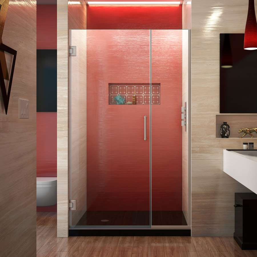 DreamLine Unidoor Plus 37.5-in to 38-in Frameless Hinged Shower Door