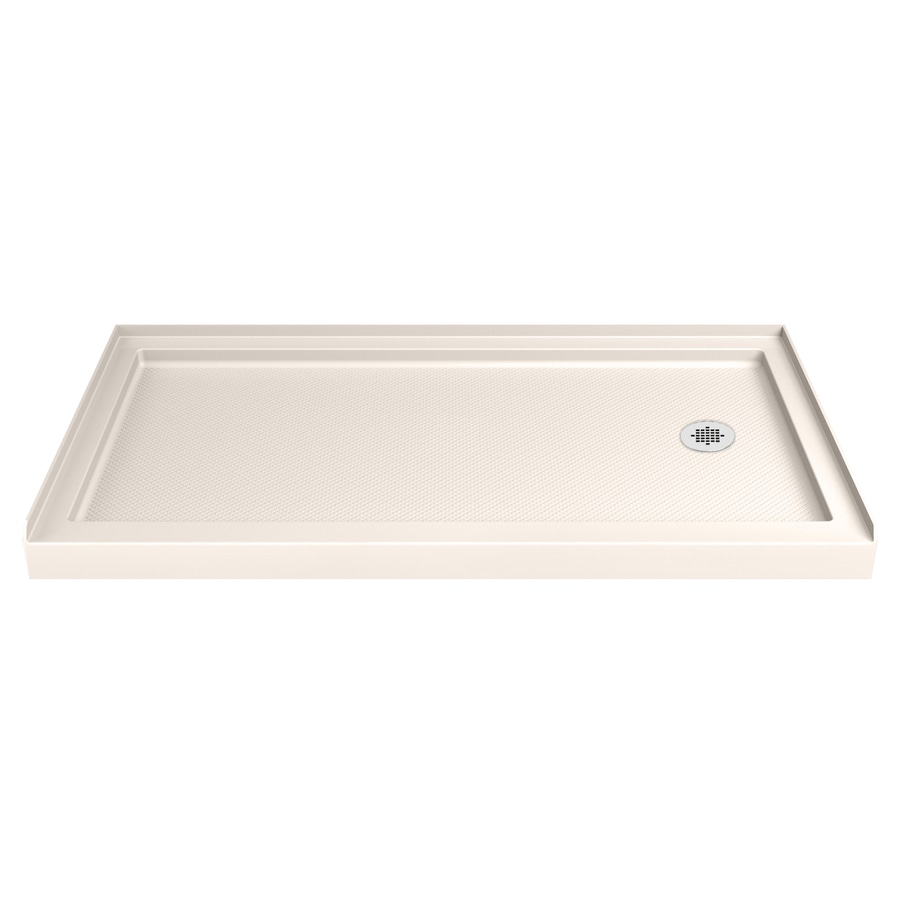 DreamLine SlimLine Biscuit Acrylic Shower Base (Common: 36-in W x 60-in L; Actual: 36-in W x 60-in L)