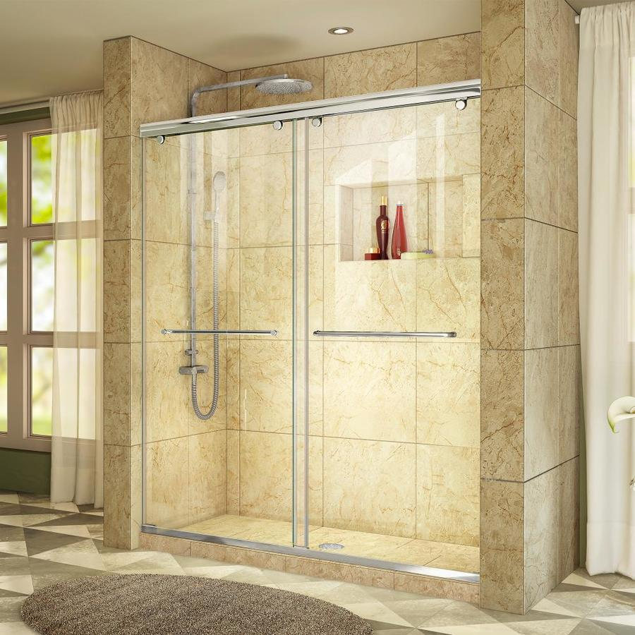 DreamLine Charisma 44-in to 48-in W x 76-in H Frameless Sliding Shower Door