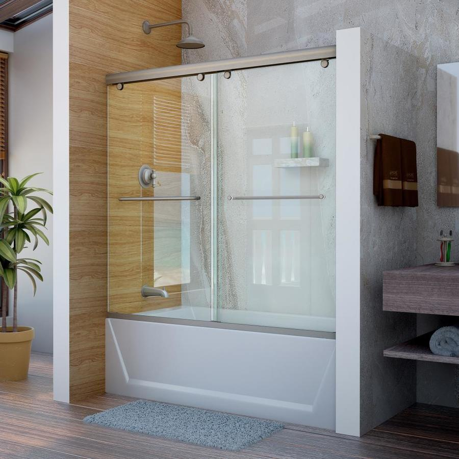 DreamLine Charisma 60-in W x 58-in H Frameless Bathtub Door