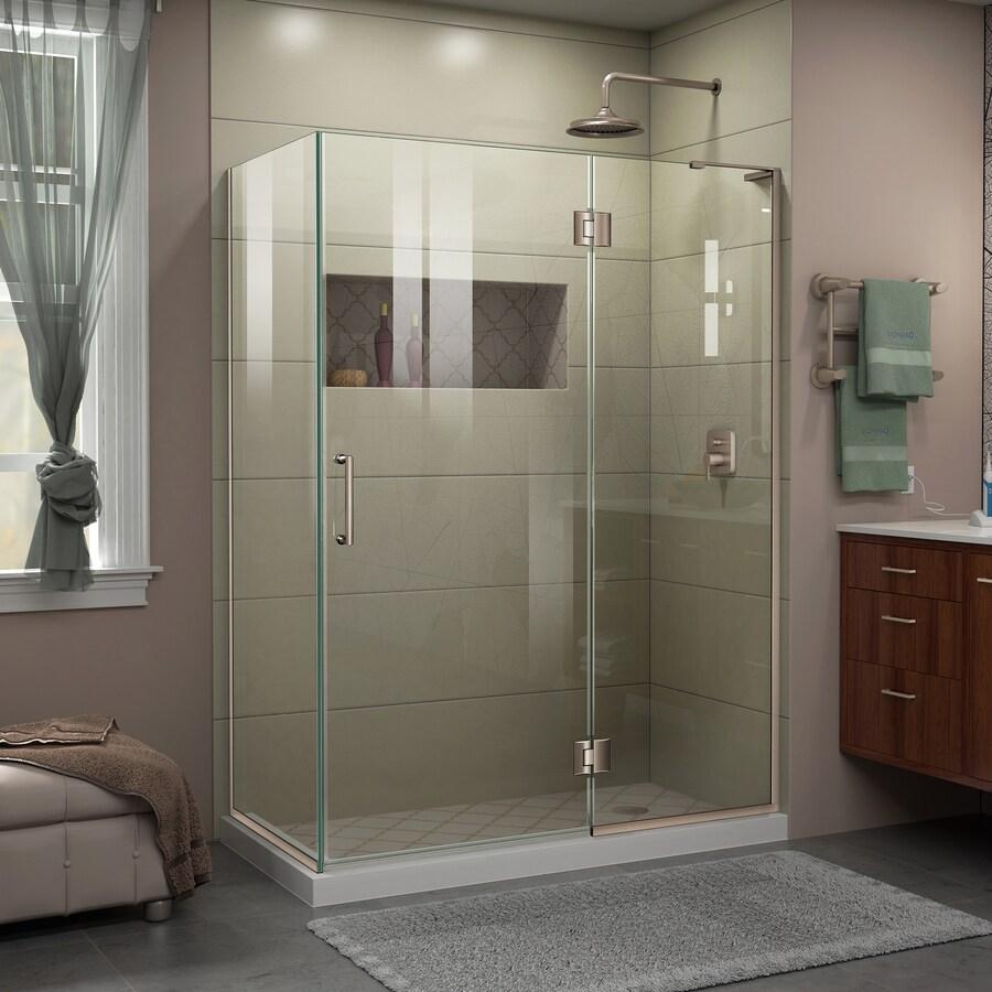 DreamLine Unidoor-X 47.375-in to 47.375-in Frameless Shower Door