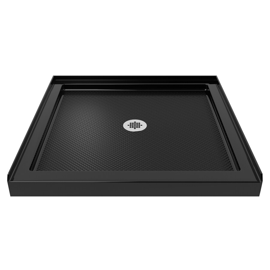 DreamLine SlimLine Black Acrylic Shower Base (Common: 32-in W x 32-in L; Actual: 32-in W x 32-in L)