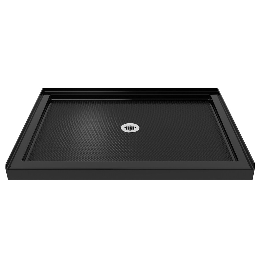 DreamLine SlimLine Black Acrylic Shower Base (Common: 34-in W x 48-in L; Actual: 34-in W x 48-in L)