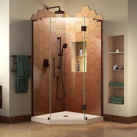 shop neo angle corner shower kits at lowes com