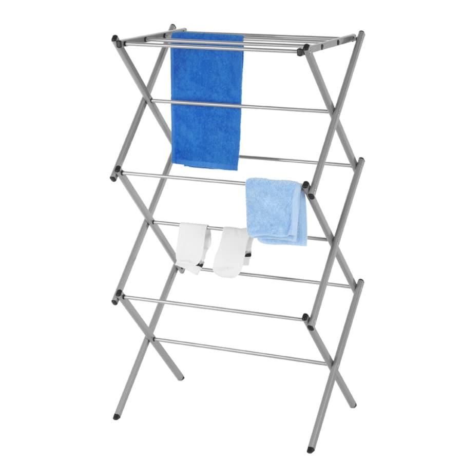 41.34-in x 22.64-in x 14.57-in Freestanding Metal Laundry Organizer