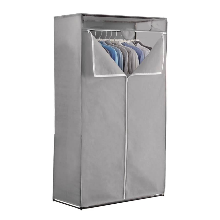 63.5-in x 36-in x 20-in Freestanding Mixed Material Laundry Organizer
