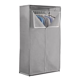 63.5 In X 36 In X 20 In Freestanding Mixed Material Laundry Organizer