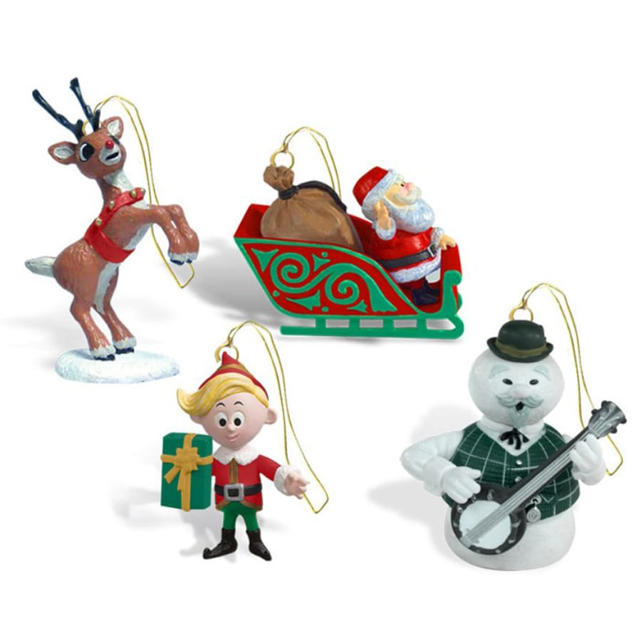 Rudolph the Red-Nosed Reindeer Multicolor Ornament Lights