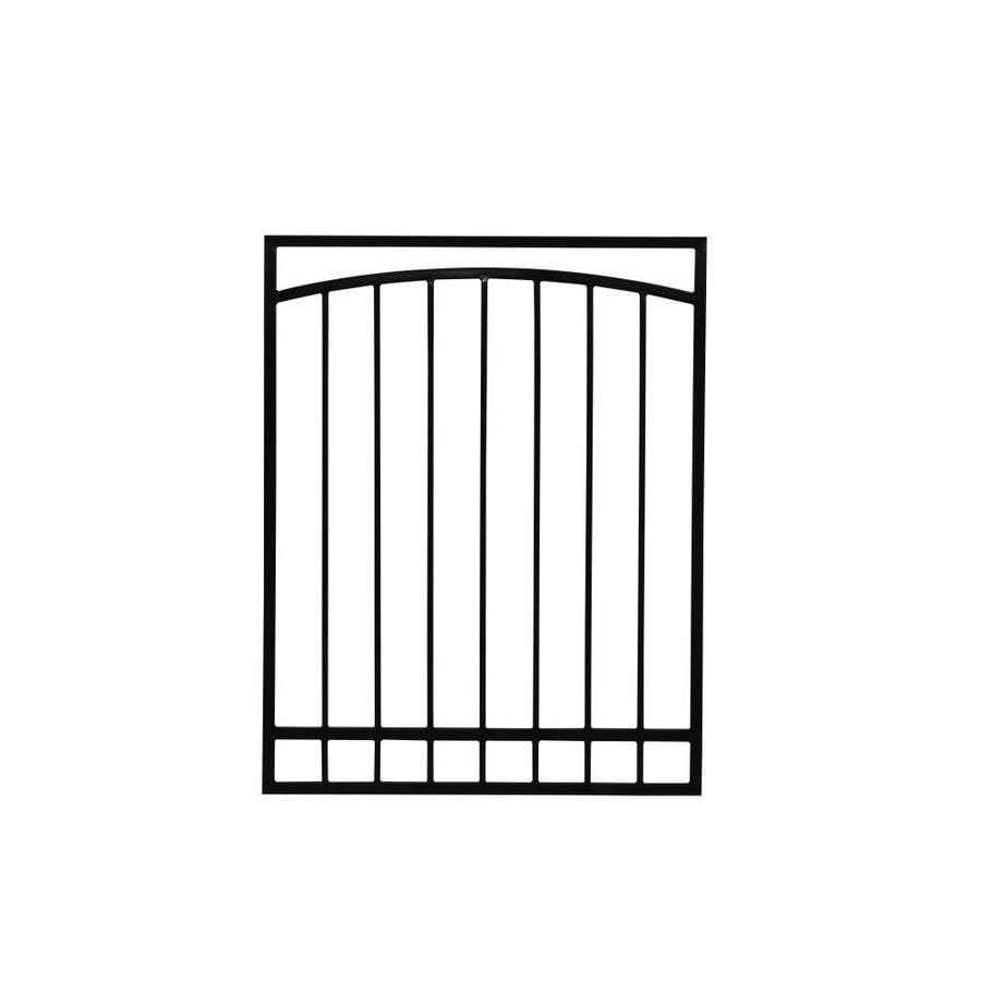 Window Security Bars Lowes >> Gatehouse 36-in x 48-in Black Gibraltar Window Security ...