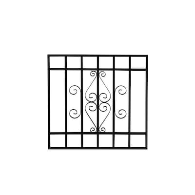 Window Security Bars Lowes >> 24 In Black Magnum Window Security Bar