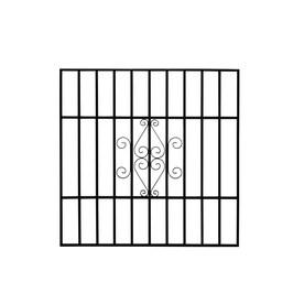 Gatehouse 36 In X Black Magnum Window Security Bar