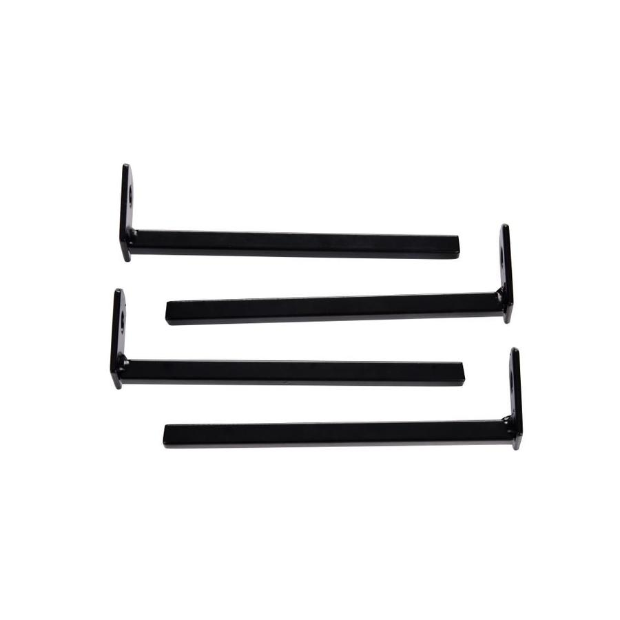 Gatehouse Window Bar Straight Bracket Black
