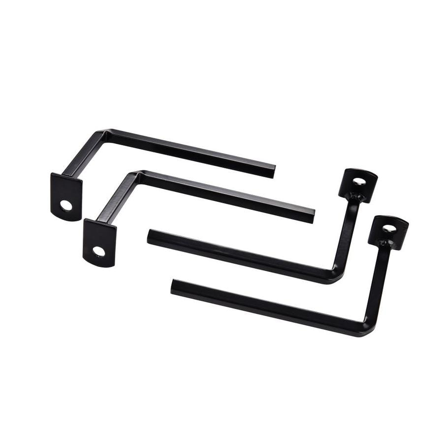 Gatehouse Window Bar Projection Bracket Black
