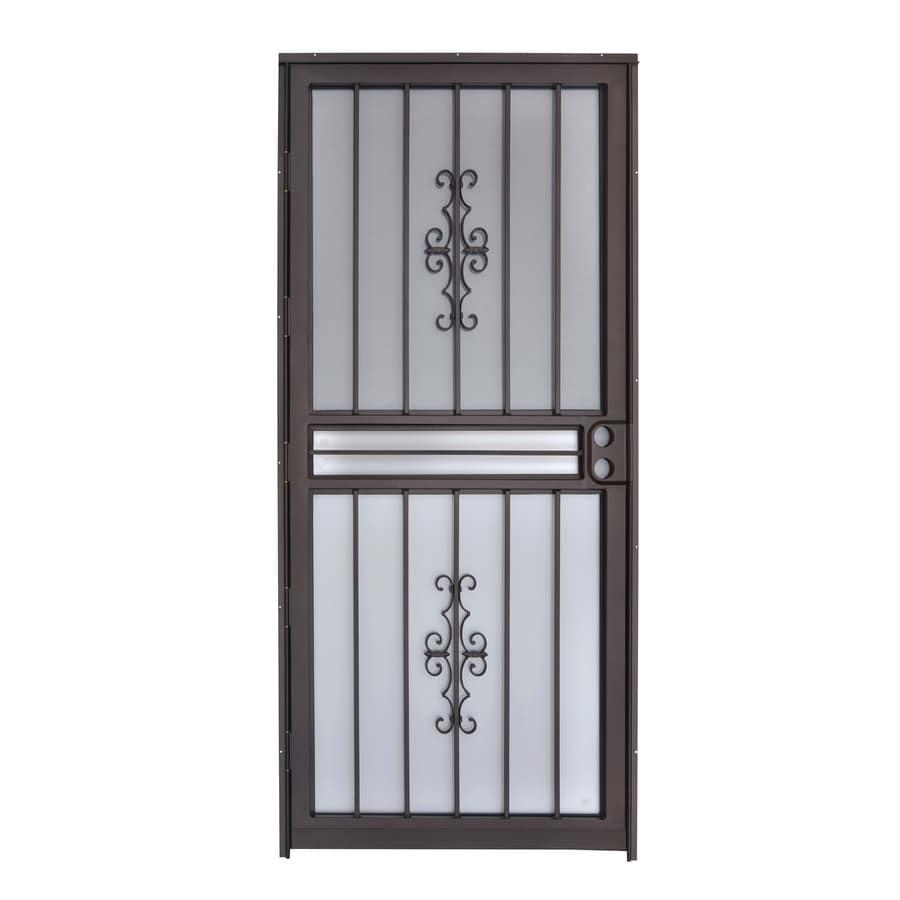 Gatehouse Resolute Copper Mid-View Steel Standard Storm Door (Common: 32-in x 80-in; Actual: 31-in x 78.5-in)